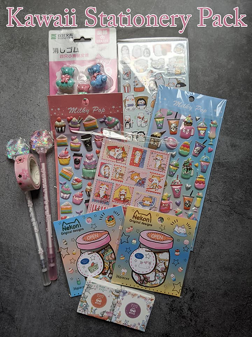 Kawaii Stationery Pack
