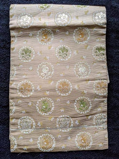sandy beige nagoya obi for kimono