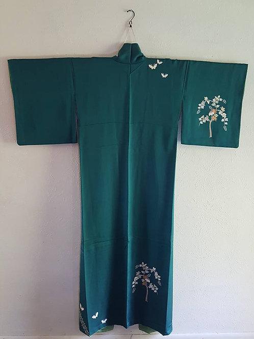 Green Japanese Kimonos