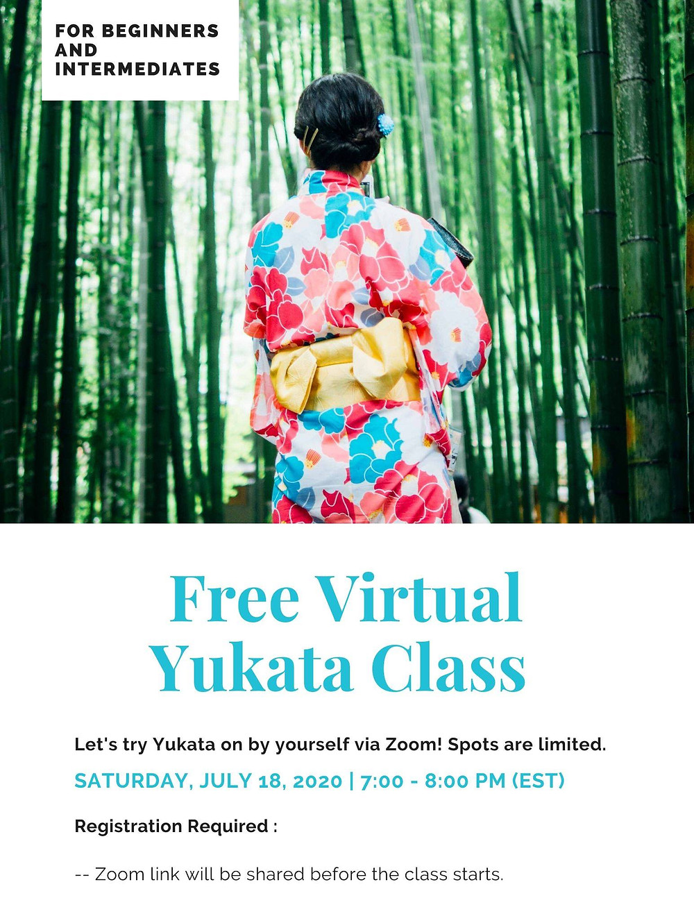 learn how to wear yukata kimono