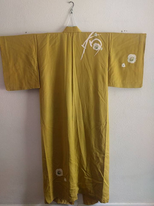 Yellow Kimono For Sale