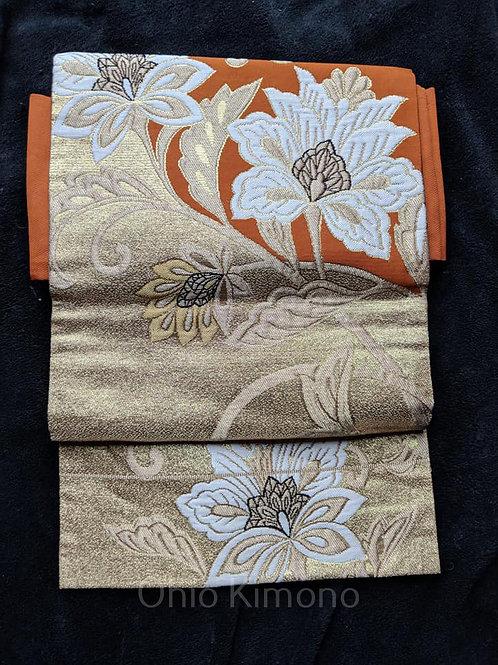 vintage nagoya obi from japan