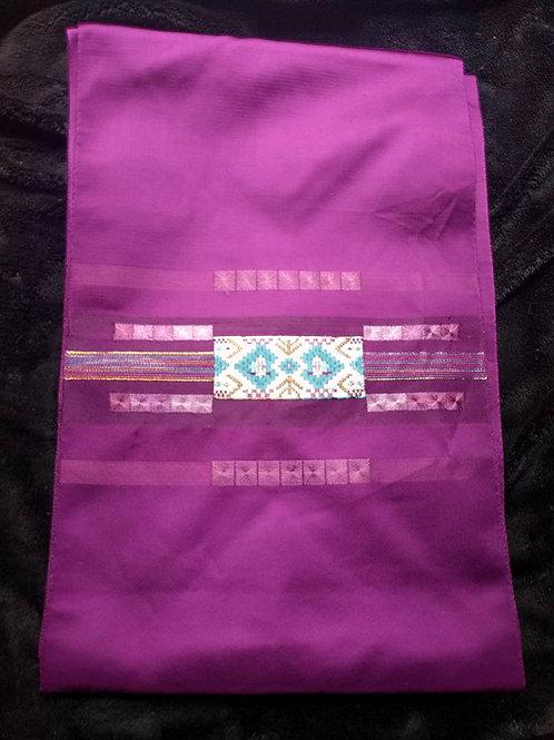 Purple Japanese Nagoya Obi