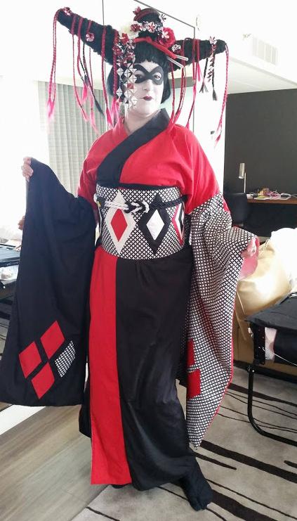 Kimono Cosplay Harley Quinn