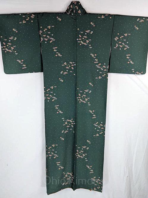 Jade Green Japanese Kimono