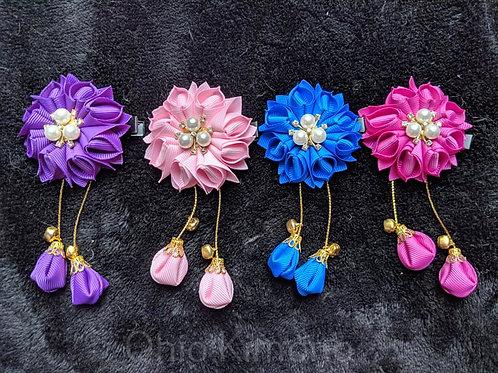 Floral Kanzashi