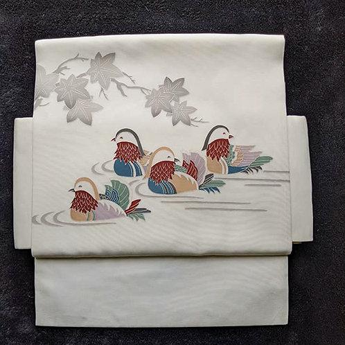 duck obi for kimono