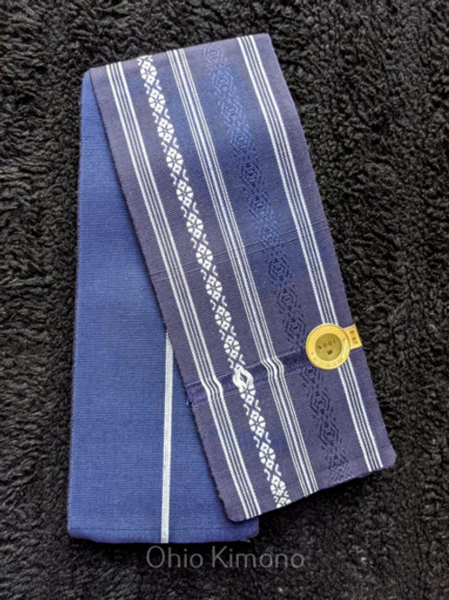 blue white mens obi