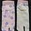 flip flop socks pink sakura