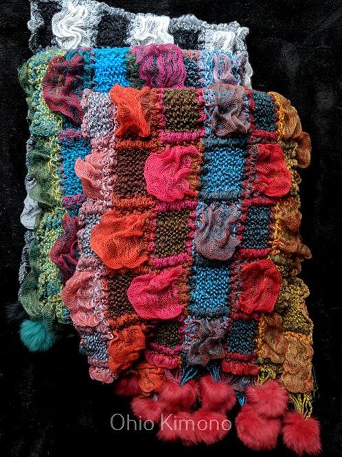 Colorful Kimono Shawls