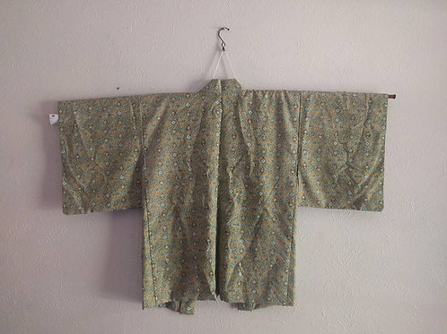 Green Haori Kimonos
