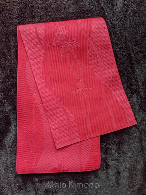 pink hanhaba obi for yukata