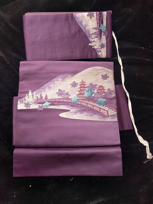 Purple Tsuke Obi