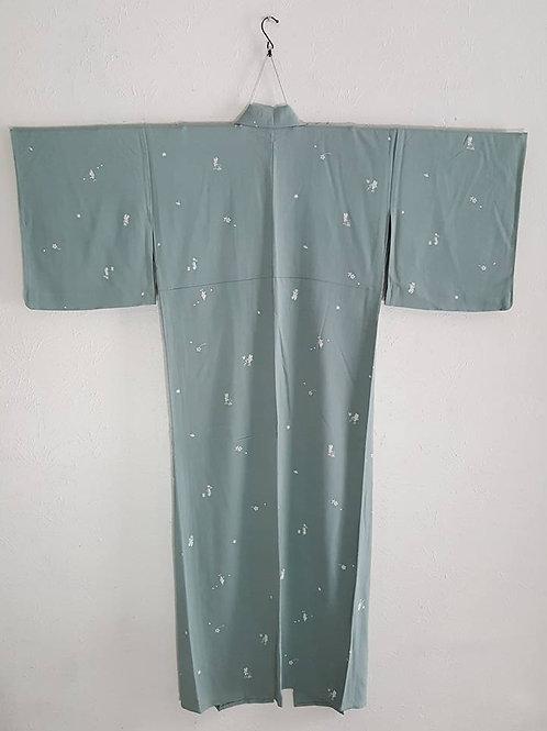 Green Japanese Kimono