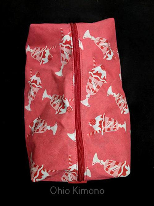 kimono makeup bag
