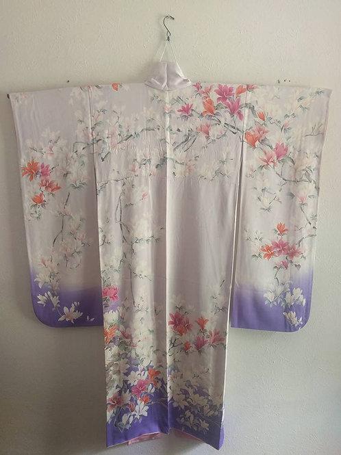 Purple Furisode Kimono