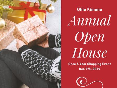 Kimono Annual Open House! Dec 7th!
