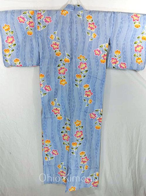 blue womens yukata