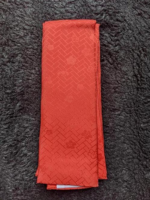 pink kimono collar