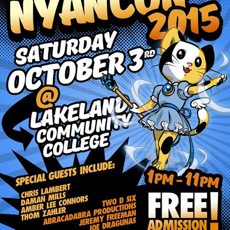 Announcing Nyan Con! Oct 3rd, FREE 1 day con outside of Cleveland, Ohio!