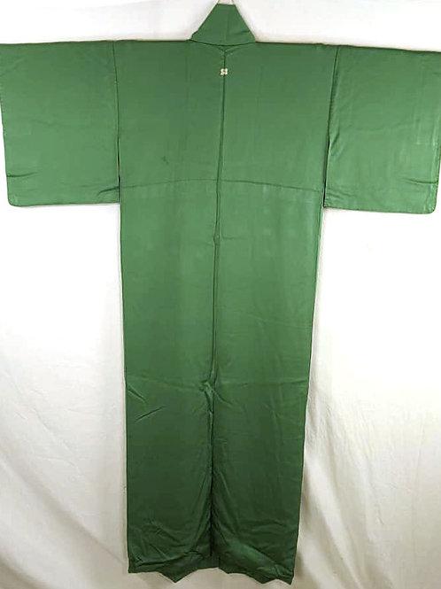 mint green silk iromuji