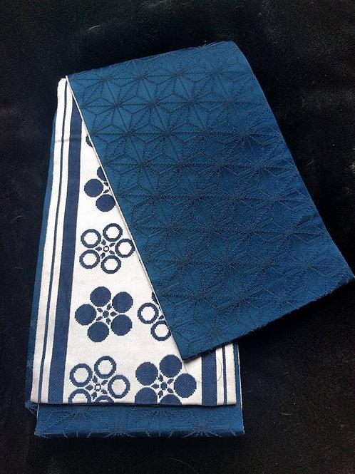 White & Blue Obi