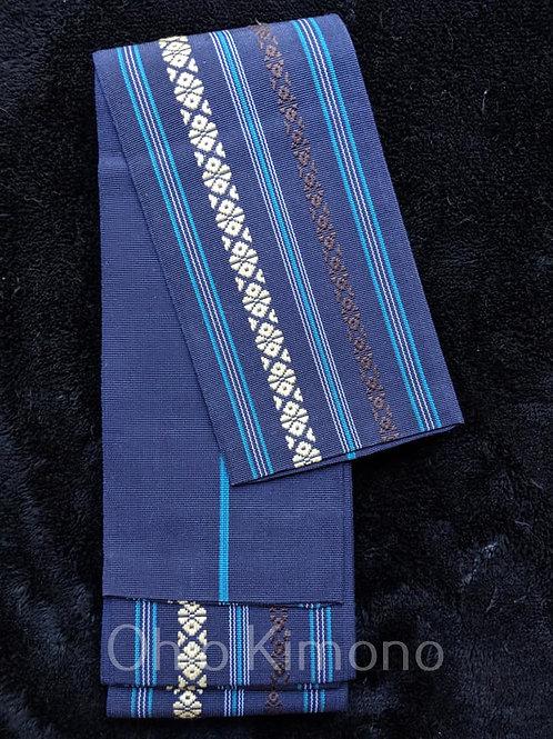 Dark Blue Men's Obi