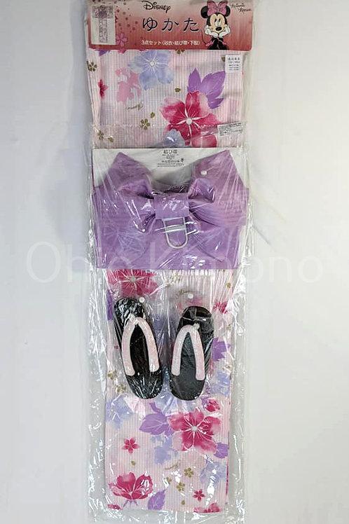 Minnie Mouse 3 Part Yukata Set