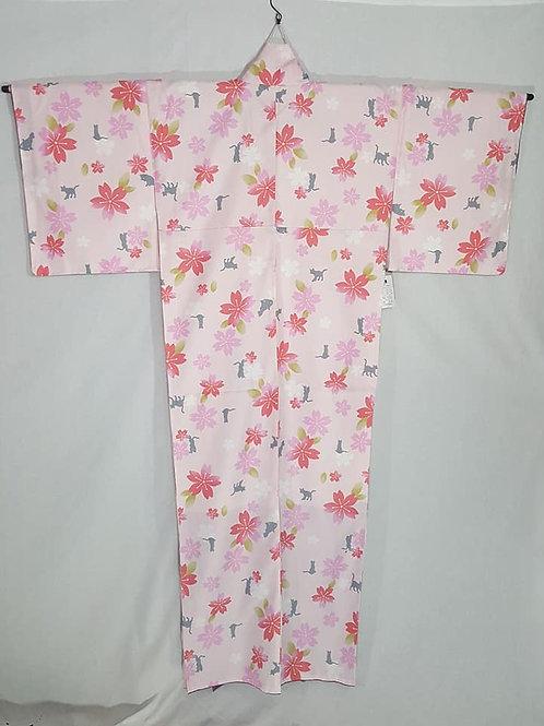 Pale Pink Kimono