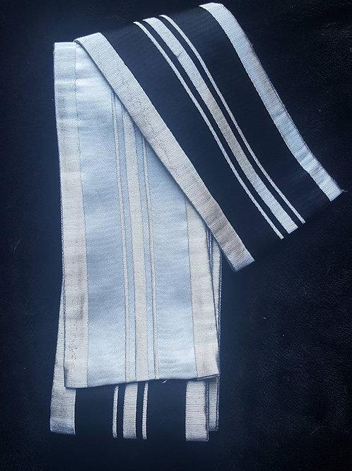 Black, White & Silver Obi