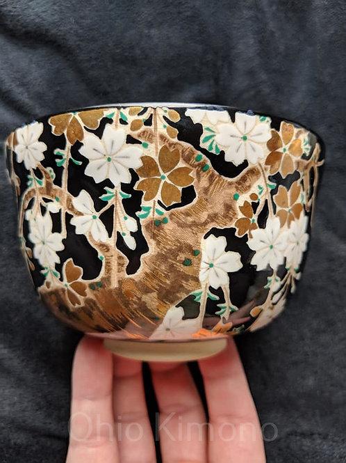 sakura tea bowl