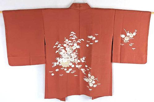 vintage flower haori from japan