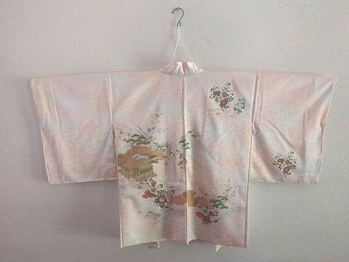 Pink Haori For Kimono