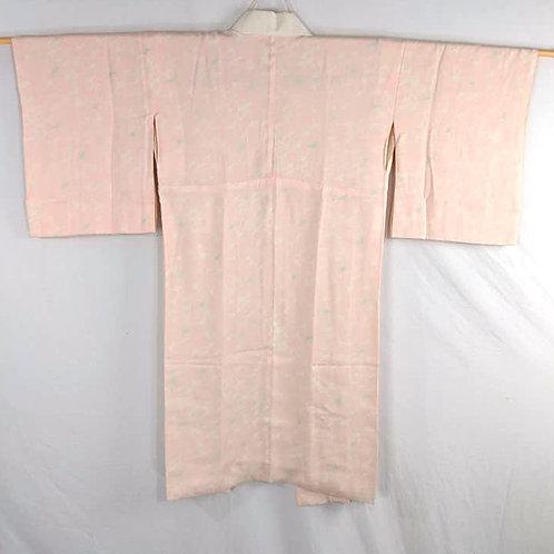 pink silk juban from japan for kimono