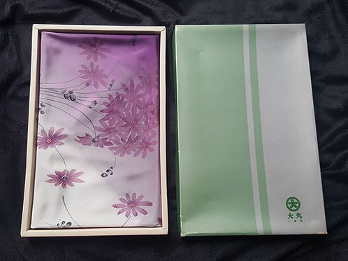 Purple & White Furoshiki