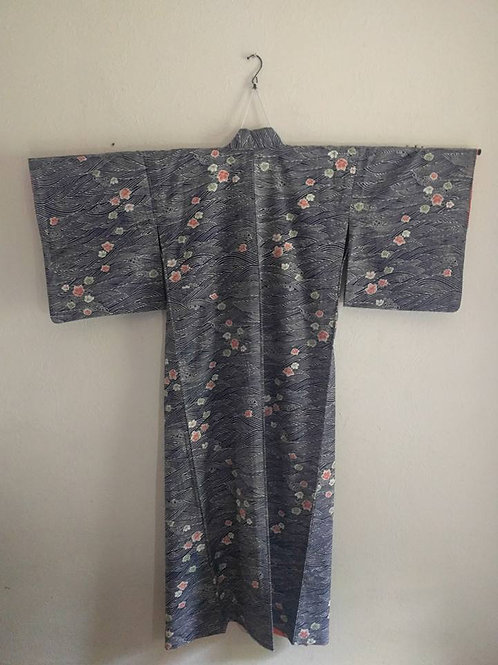 Blue Japanese Kimonos