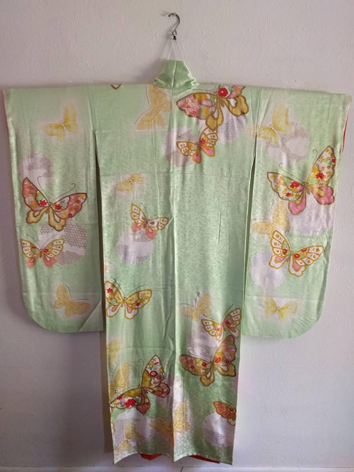 Japanese Kimono Furisode