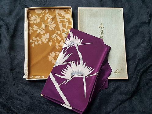 Brown & Purple Furoshiki Set