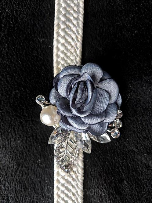 Dusty Blue & Silver Obidome