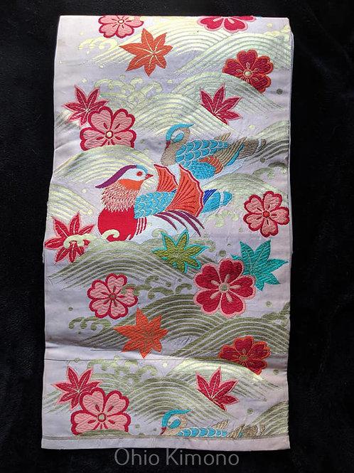pink obi for kimono