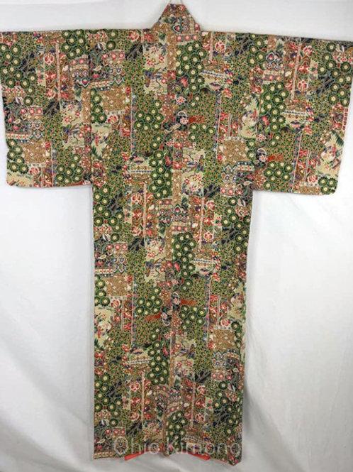 vintage japanese kimono for women store
