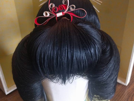 New - Japanese Katsura Wig For Sale