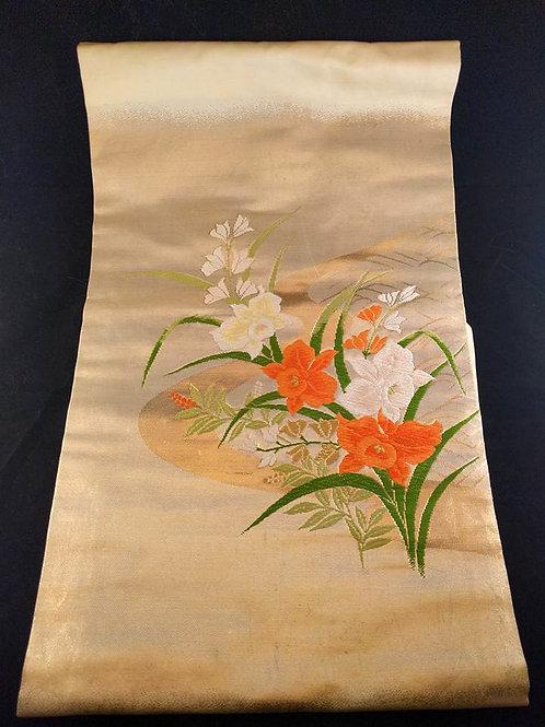 Vintage Floral Nagoya Obi
