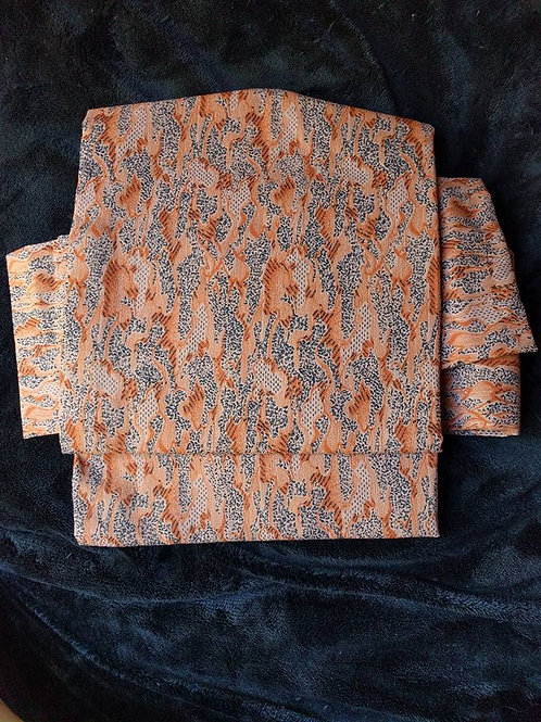 Brown Obi For Kimono