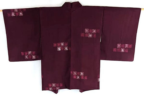 Mulberry Purple & Fuschia Haori