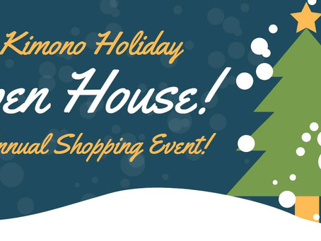 Ohio Kimono - Holiday Open House