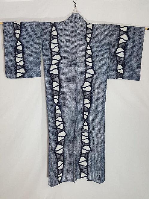 shibori women's yukata