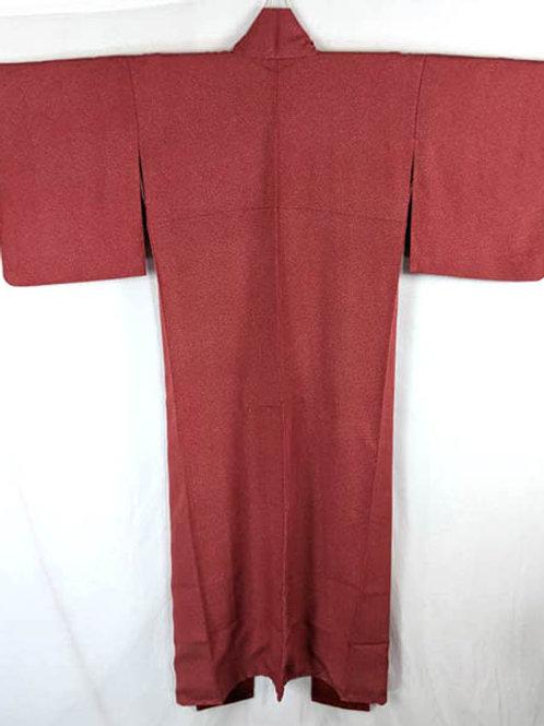 red and black edo komon kimono