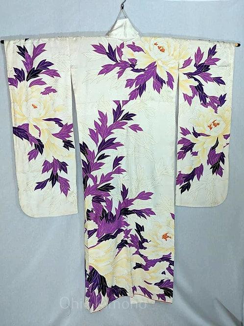 Vintage Silk Furisode