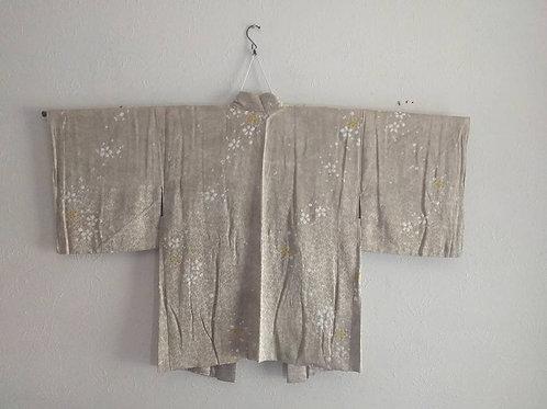Silk Haori Kimono Coat